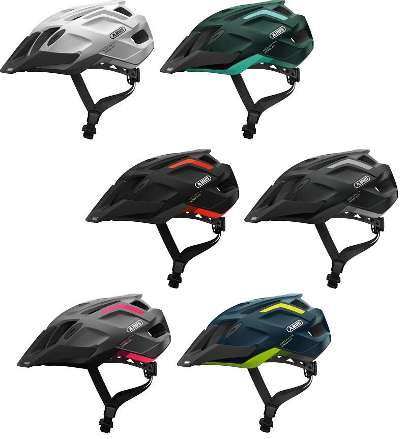 abus mountk fahrradhelm f r mtb mit insektenschutz und helmschirm g nstig bei bikes2race. Black Bedroom Furniture Sets. Home Design Ideas