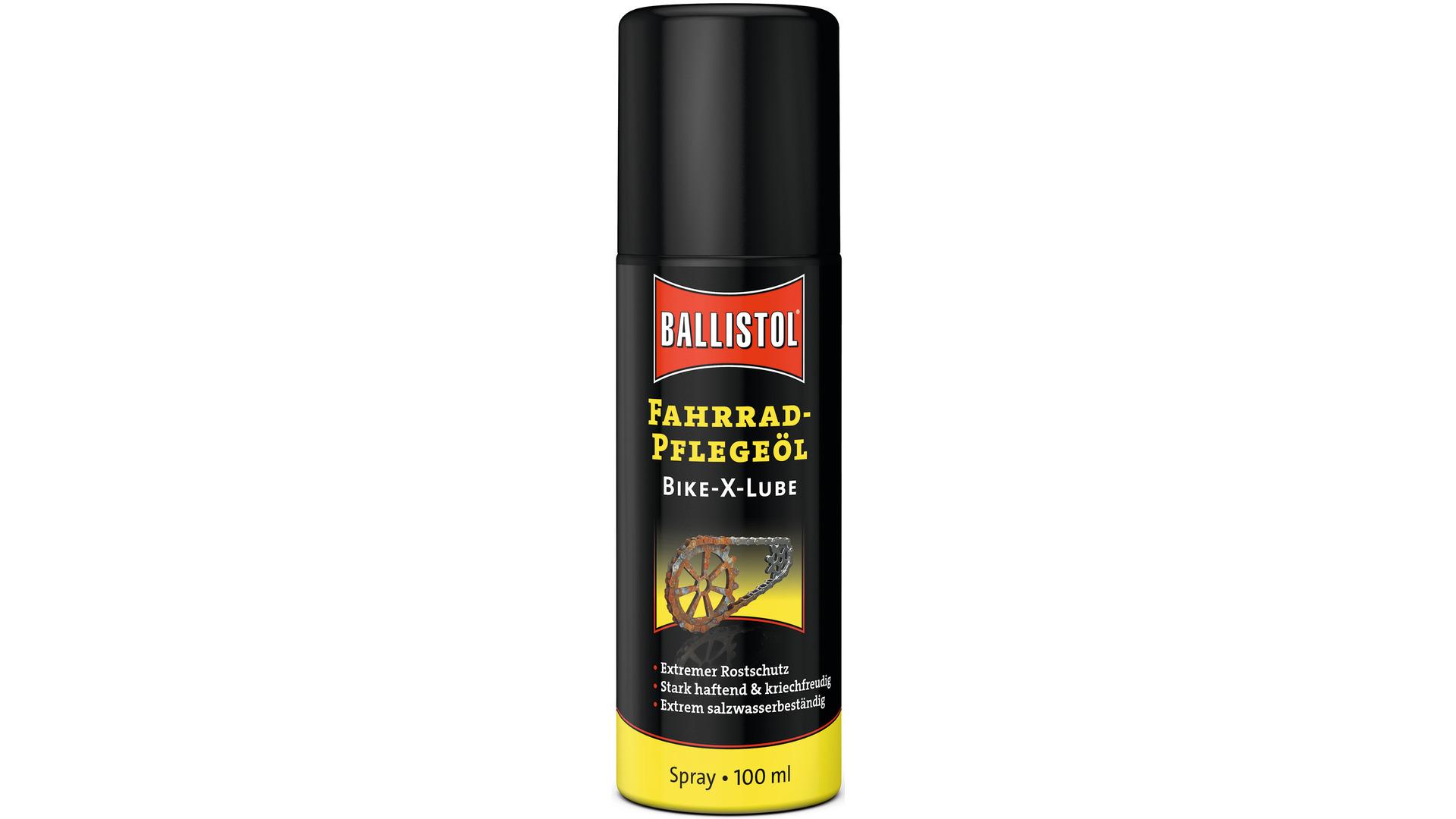 ballistol bike x lube spray x treme ketten l 100 ml jetzt g nstig kaufen bei bikes2race. Black Bedroom Furniture Sets. Home Design Ideas