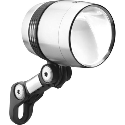 busch m ller lumotec iq x silver 100 lux fahrradlampe f r. Black Bedroom Furniture Sets. Home Design Ideas