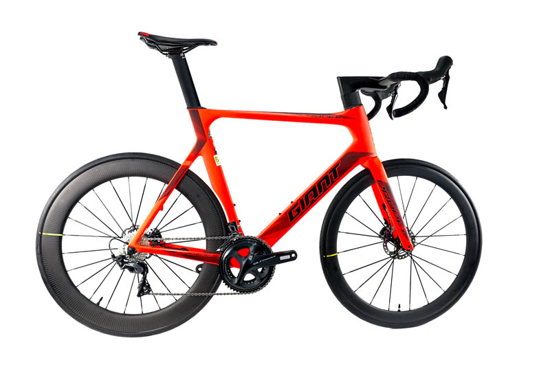 GIANT Propel Advanced Disc Carbon-Rennrad 2x11 Ultegra Mavic-Laufräder Mod. 2018 - Bild 1