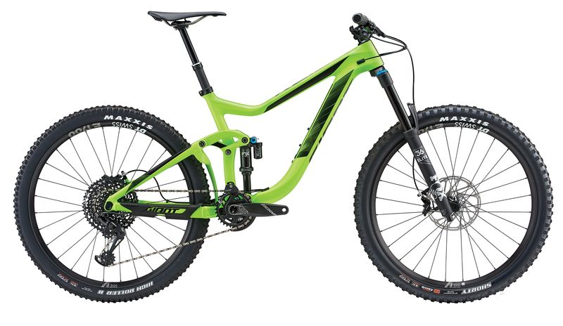 "GIANT Reign Advanced 1 Carbon-Fully 27.5"" 1x12 Gang 160/160 Federweg Modell 2018 - Bild 1"