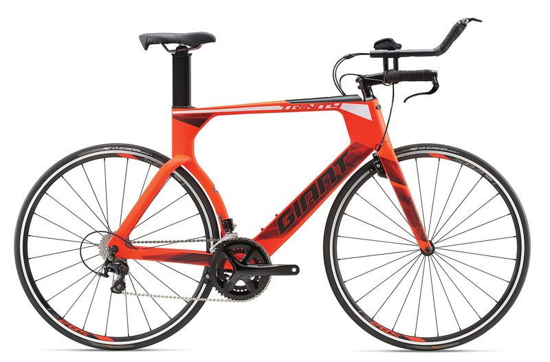 GIANT Trinity Advanced Carbon Triathlonrad mit 2x11 Shimano Modell 2018 - Bild 1